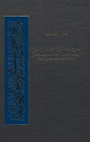 9780674011069: Jewish and Islamic Law: A Comparative Study of Custom during the Geonic Period (Harvard Series in Islamic Law)