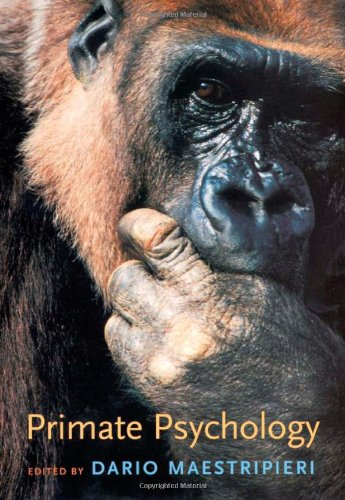 9780674011526: Primate Psychology