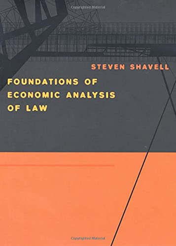 9780674011557: Foundations of Economic Analysis of Law
