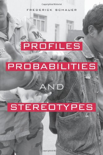 9780674011861: Profiles, Probabilities, and Stereotypes