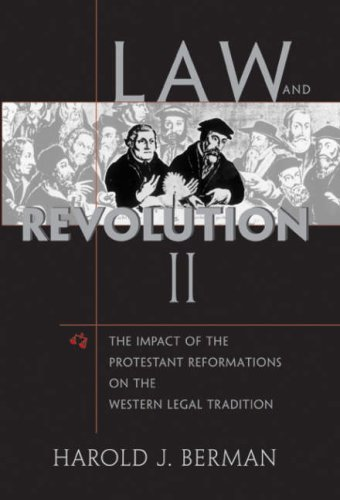 9780674011953: Law and Revolution 2: The Impact of the Protestant Reformation on the Western Legal Tradition: The Impact of the Protestant Reformations on the Western Legal Tradition: v. 2