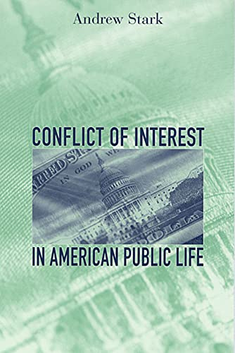 9780674012134: Conflict of Interest in American Public Life