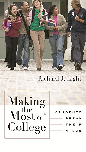 9780674013599: Making the Most of College: Students Speak Their Minds
