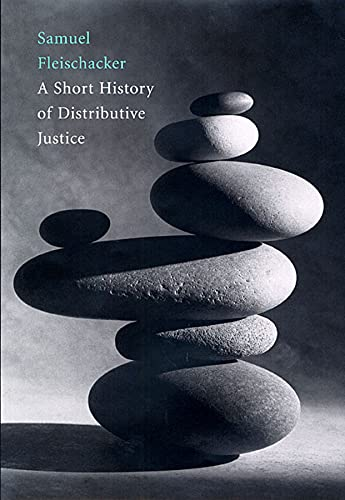 9780674018310: A Short History Of Distributive Justice