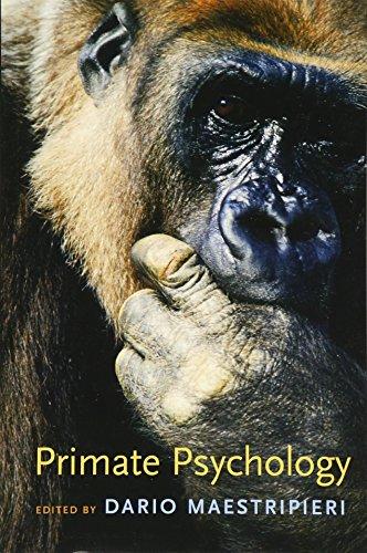 9780674018471: Primate Psychology