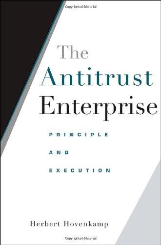 9780674018976: The Antitrust Enterprise: Principle and Execution