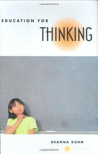 9780674019065: Education for Thinking