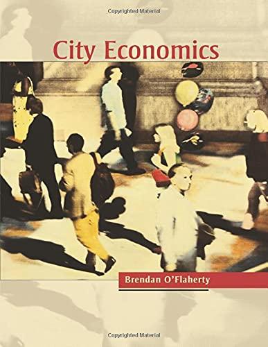 9780674019188: City Economics