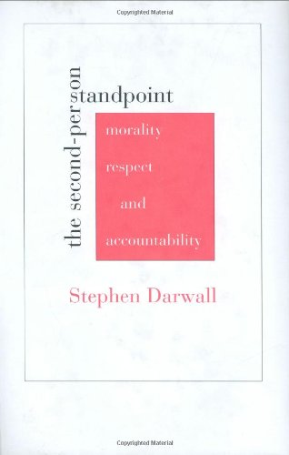 9780674022744: The Second-Person Standpoint: Morality, Respect, and Accountability