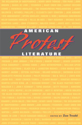 9780674023529: American Protest Literature (The John Harvard Library)