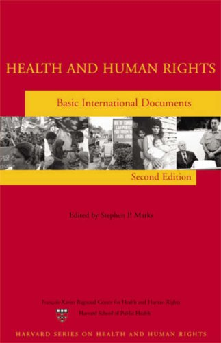 9780674023772: Health and Human Rights: Basic International Documents, Second Edition (Harvard Series on Health And Human Rights)