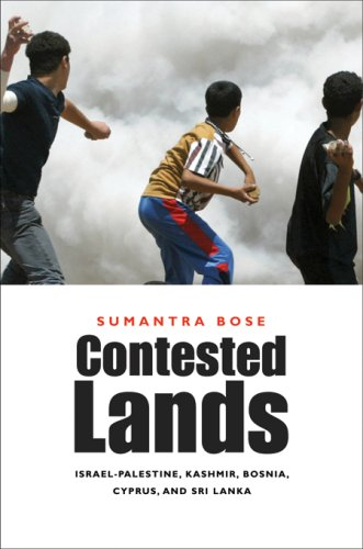 9780674024472: Contested Lands: Israel-Palestine, Kashmir, Bosnia, Cyprus, and Sri Lanka