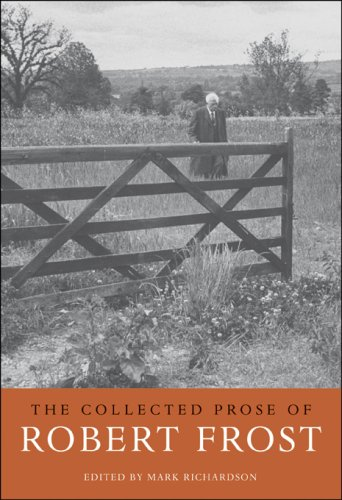 9780674024632: The Collected Prose of Robert Frost