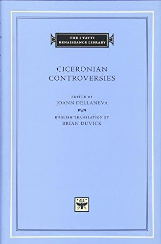 9780674025202: Ciceronian Controversies (The I Tatti Renaissance Library)