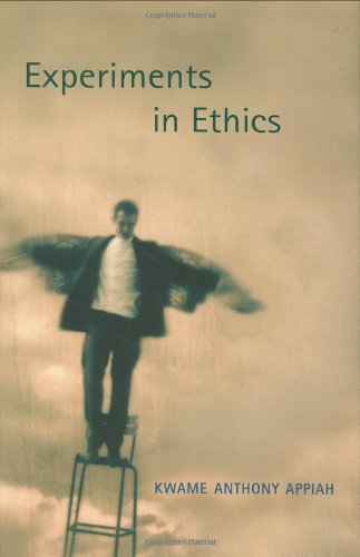 Experiments in Ethics (Mary Flexner Lecture Series: Kwame Anthony Appiah