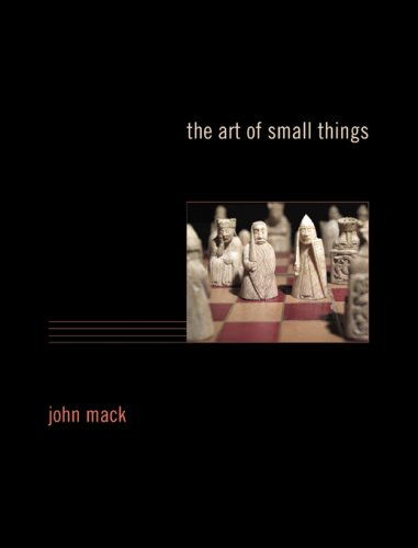 9780674026933: The Art of Small Things