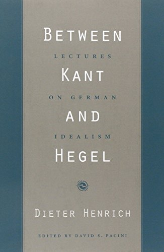 9780674027374: Between Kant and Hegel: Lectures on German Idealism