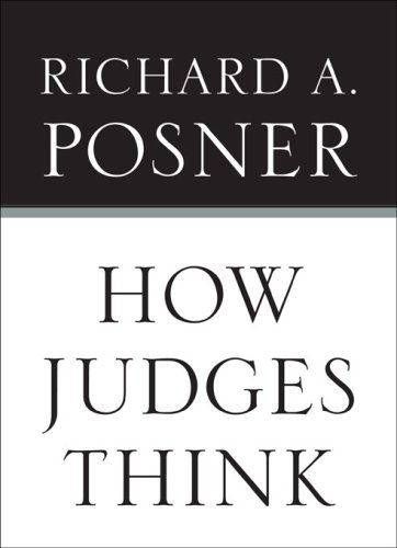 9780674028203: How Judges Think