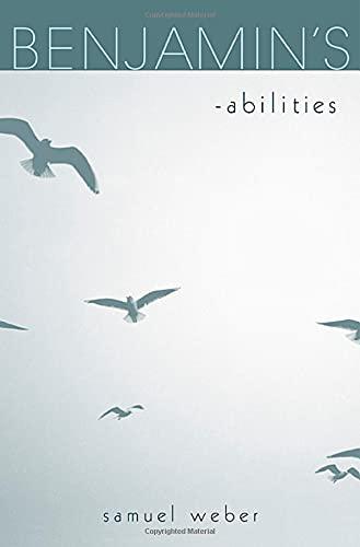 9780674028371: Benjamin's -abilities
