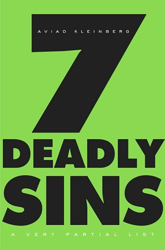 9780674031418: Seven Deadly Sins: A Very Partial List