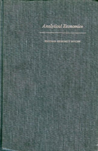 9780674031500: Analytical Economics: Issues and Problems