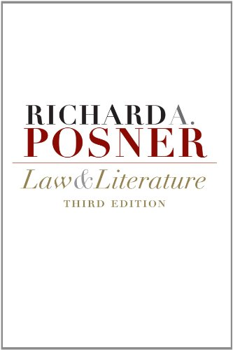 9780674032460: Law and Literature: Third Edition