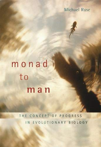9780674032484: Monad to Man: The Concept of Progress in Evolutionary Biology