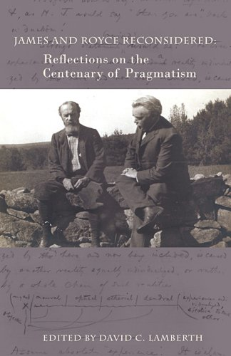 9780674033054: James and Royce Reconsidered: Reflections on the Centenary of