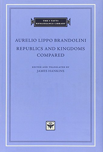 9780674033986: Republics and Kingdoms Compared