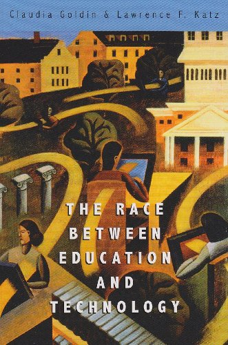9780674035300: The Race between Education and Technology