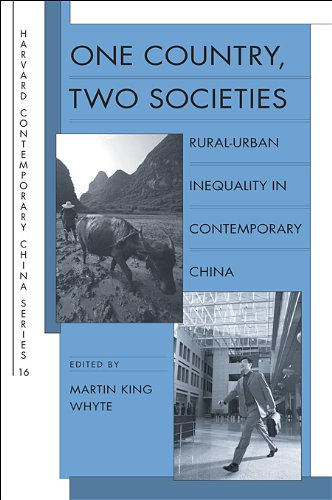 9780674036307: One Country, Two Societies: Rural-Urban Inequality in Contemporary China (Harvard Contemporary China)