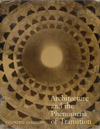 9780674043374: Architecture and the Phenomena of Transition: The Three Space Conceptions in Architecture