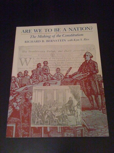 9780674044760: Are We to Be a Nation?
