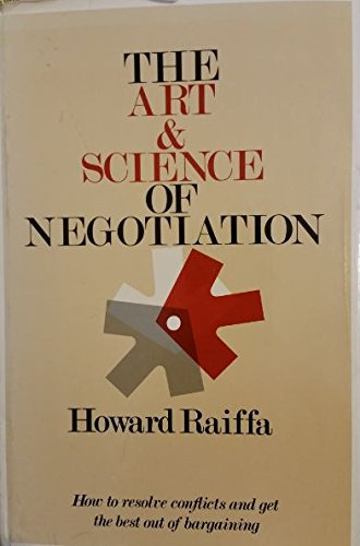 9780674048126: Art and Science of Negotiation