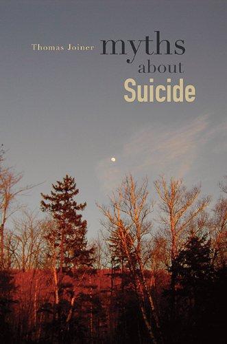 9780674048225: Myths About Suicide