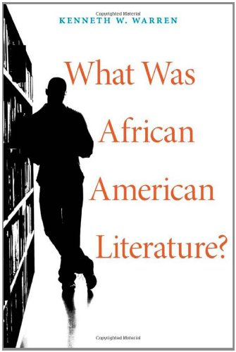 9780674049222: What Was African American Literature? (The W. E. B. Du Bois Lectures)