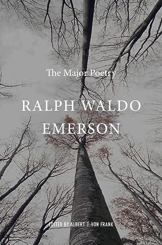 9780674049598: Ralph Waldo Emerson: The Major Poetry