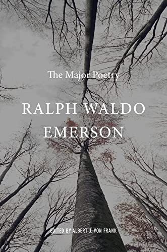 9780674049598: Ralph Waldo Emerson: The Major Poetry