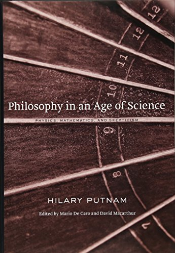 9780674050136: Philosophy in an Age of Science: Physics, Mathematics, and Skepticism