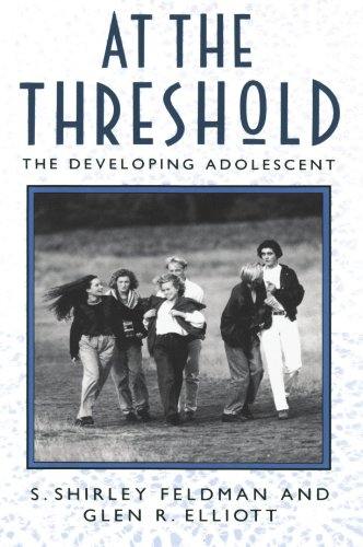 9780674050365: At the Threshold: Developing Adolescent