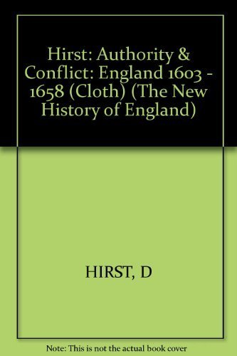9780674052901: Authority and Conflict: England, 1603-1658