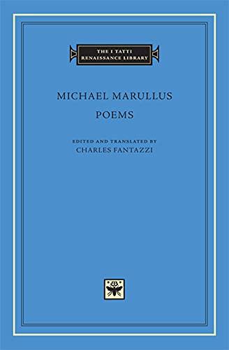 9780674055063: Poems (The I Tatti Renaissance Library)