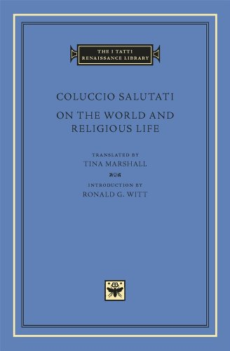 9780674055148: On the World and Religious Life (The I Tatti Renaissance Library)