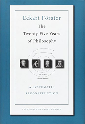 9780674055162: The Twenty-Five Years of Philosophy: A Systematic Reconstruction