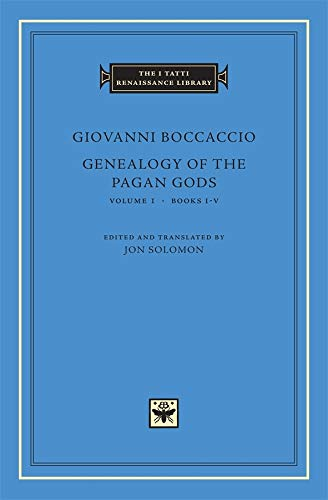 9780674057104: Genealogy of the Pagan Gods: v. 1, Bks. I-V (The I Tatti Renaissance Library)