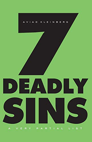9780674057326: Seven Deadly Sins: A Very Partial List