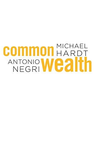 9780674060289: Commonwealth