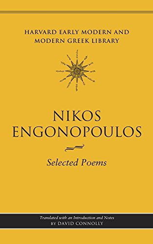 9780674063440: Selected Poems (Harvard Early Modern and Modern Greek Library)