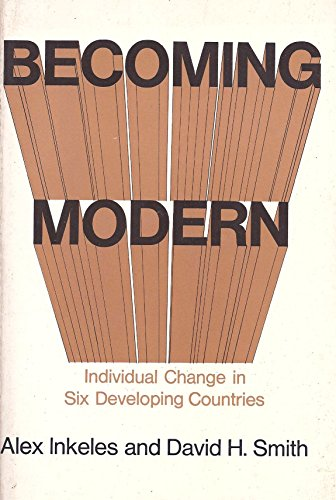 9780674063761: Becoming Modern: Individual Change in Six Developing Countries
