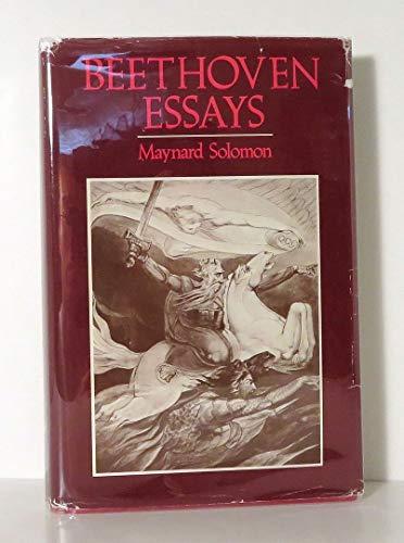 9780674063778: Beethoven Essays